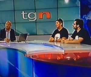 La presentazione dei lavori a Telenord