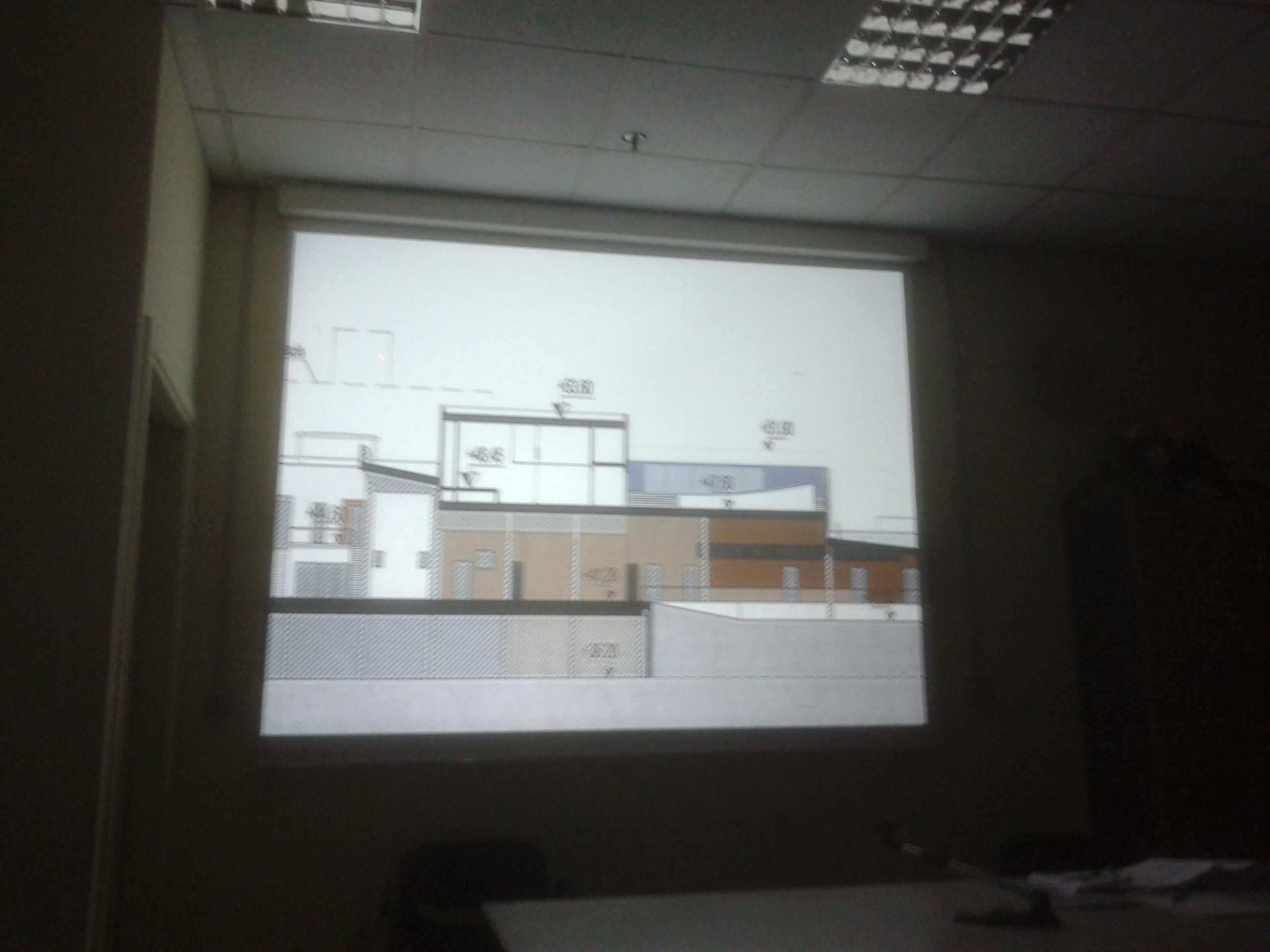 Sezione del Teatro dell Ortica una superficie di 380 mq con una capienza di