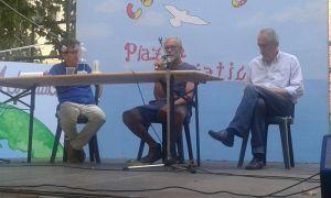 L'intervento di Eugenio Bracco della Associazione Amici di Ponte Carrega
