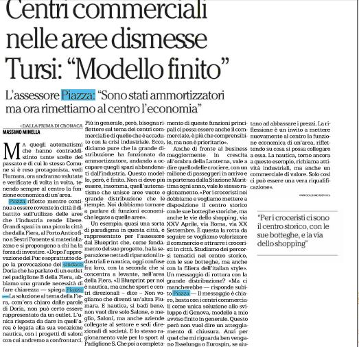 La Repubblica, 7 dicembre 2015