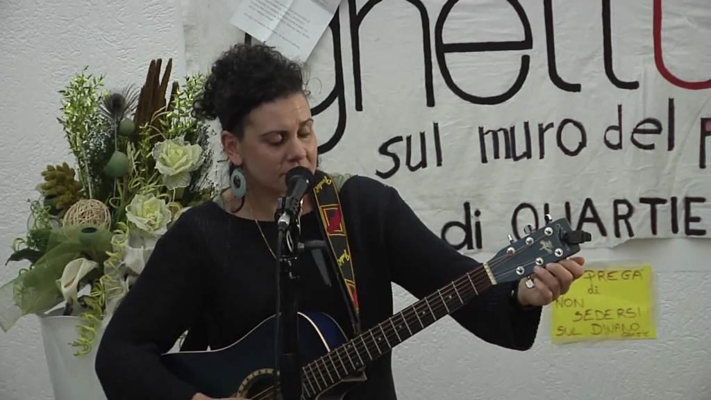 La cantautrice  Cristina Nico