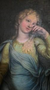Venere e Adone, Guidobono: particolare di Venere. Villa Durazzo a Pino
