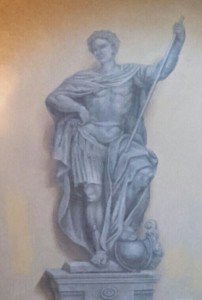 affresco della Villa Durazzo Grimaldi a Montesignano