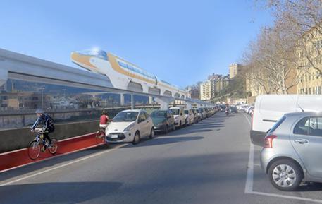 Progetto skytram Genova