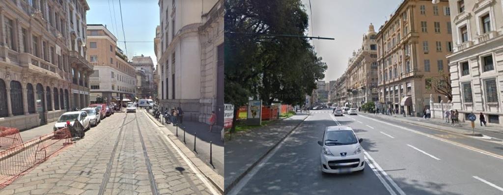 Via Armorari Milano - Via Fiume Genova