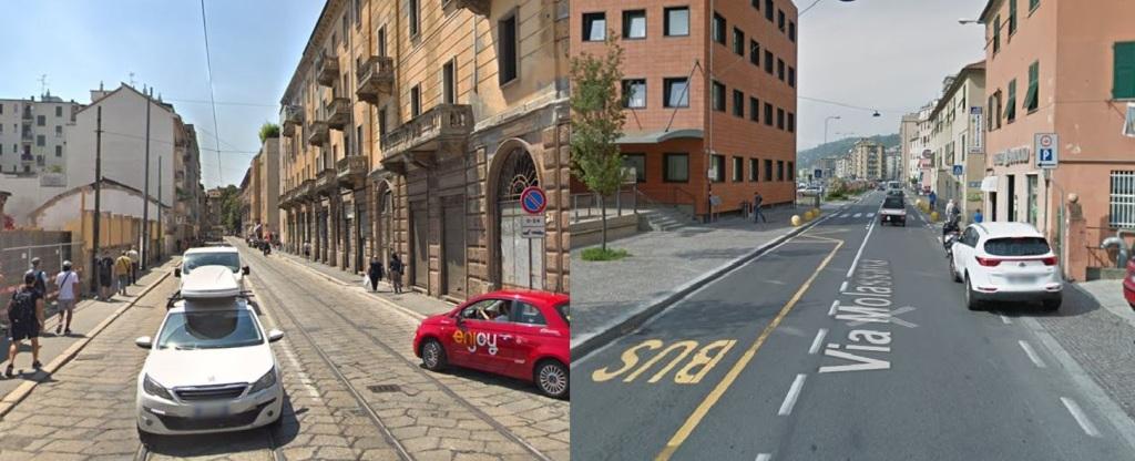 Via La Mrmora Milano - Via Molassana
