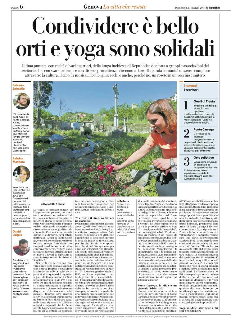 La Repubblica 19 Maggio 2019 Domenica (Genova)-06