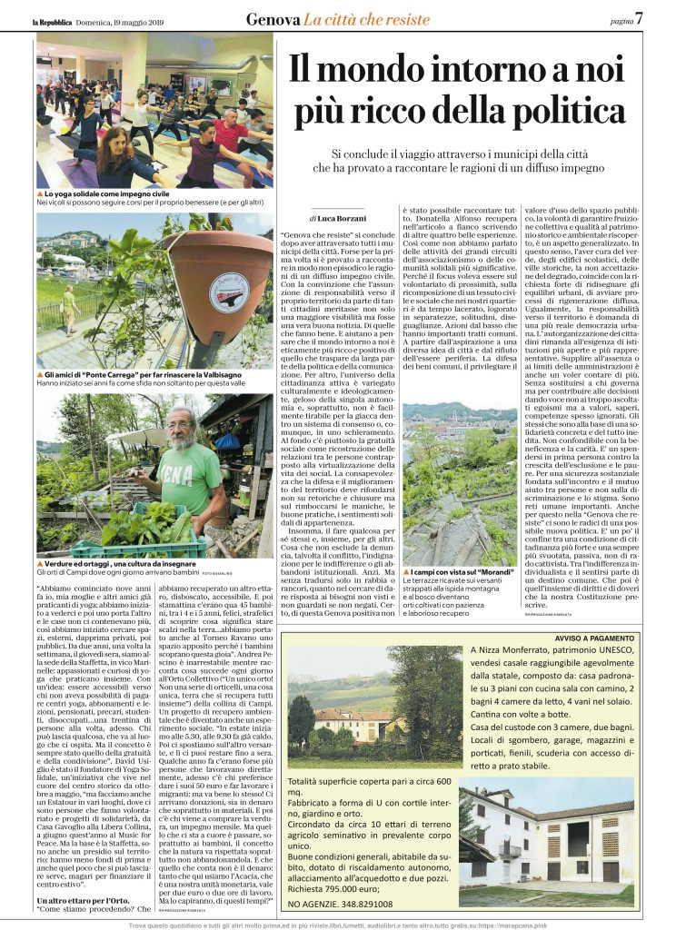 La Repubblica 19 Maggio 2019 Domenica (Genova)-07